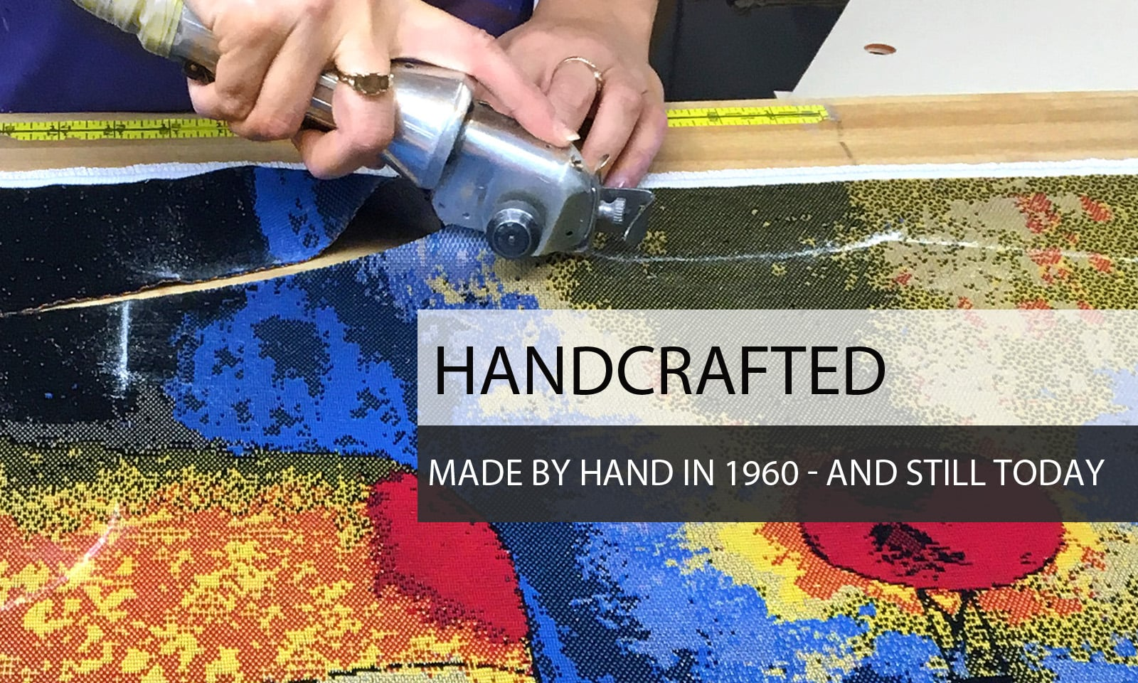 Hand Crafted - Made by Hand in 1960 - And still today