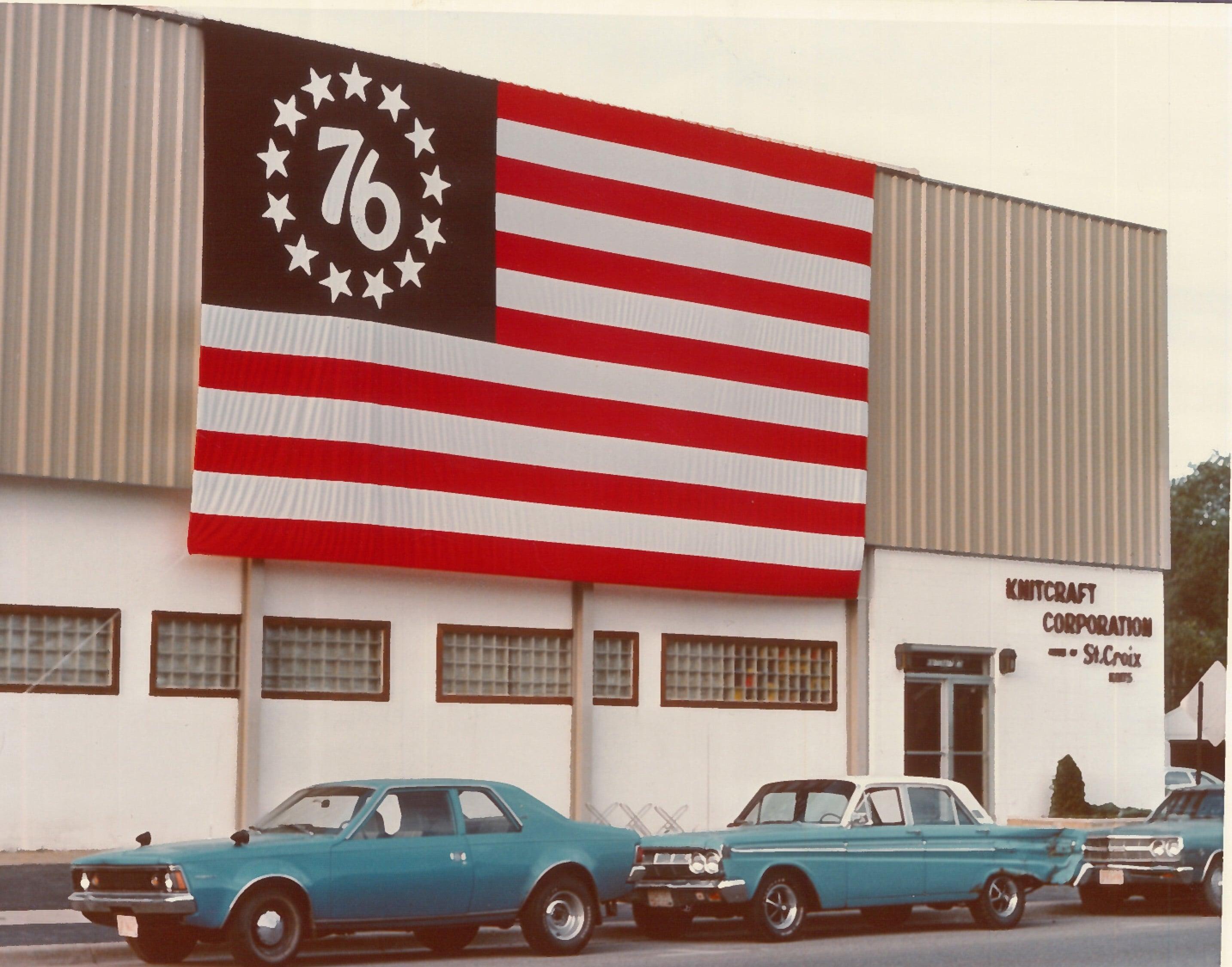 Color flag on building copy 2