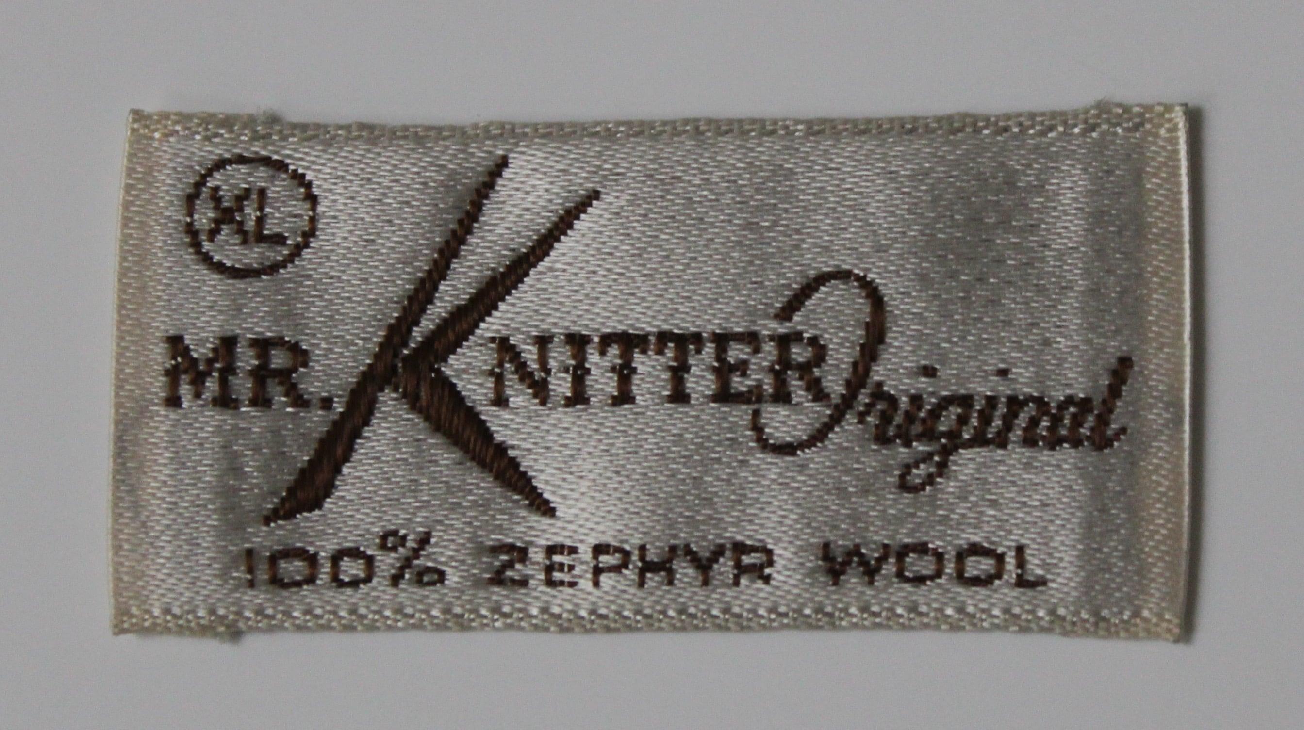 Mr. Knitter label