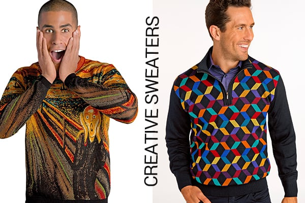 creative sweaters