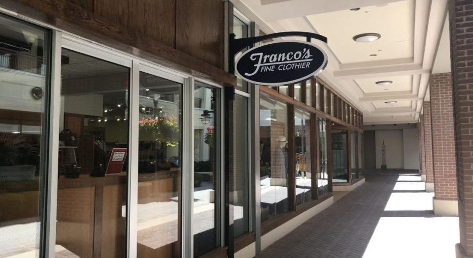 Retailer Spotlight: Franco's Fine Clothier